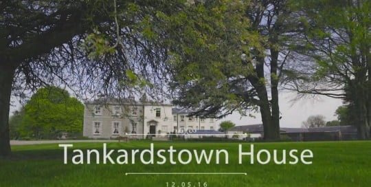 tankardstown house wedding video