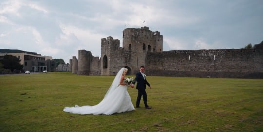 trim castle wedding video